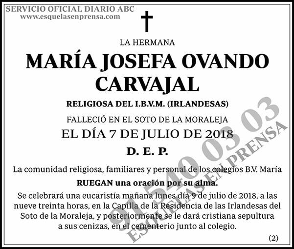 Josefa Ovando Carvajal